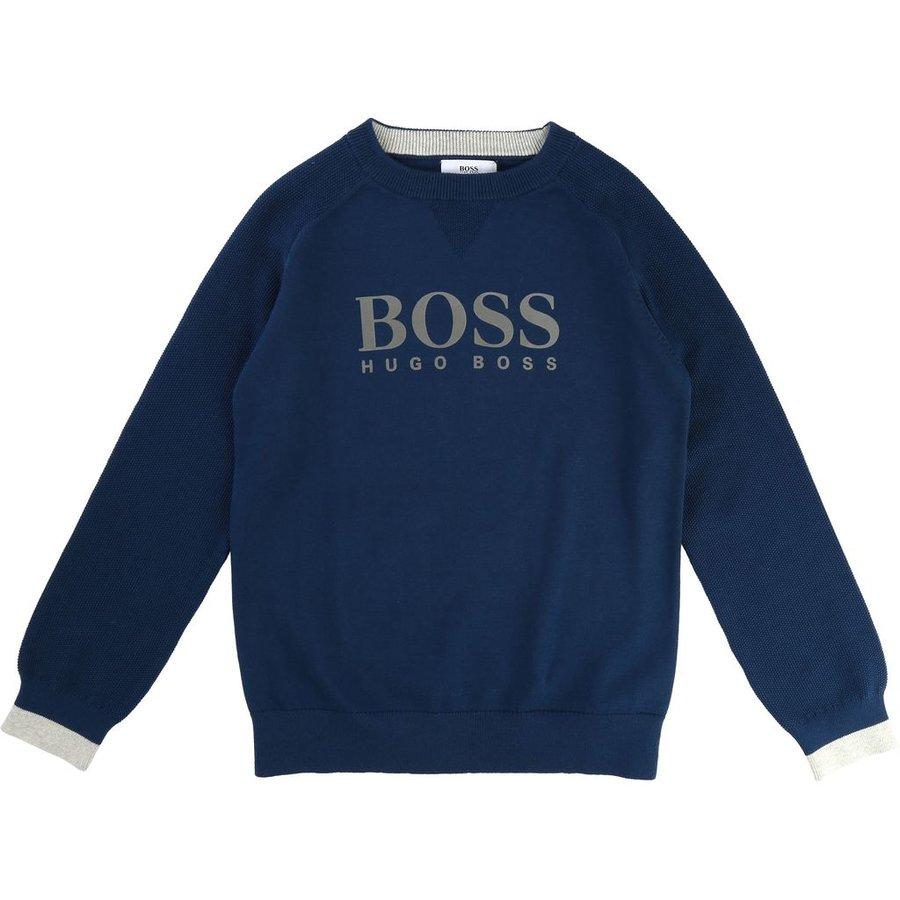 Hugo Boss Boys Pullover Sweater 172 J25B17