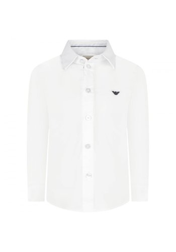 Armani Junior Armani Junior Classic Slim Dress Shirt