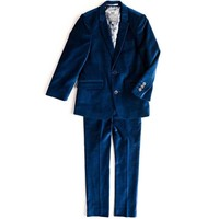 Appaman Mod Boys Slim Velvet Suit