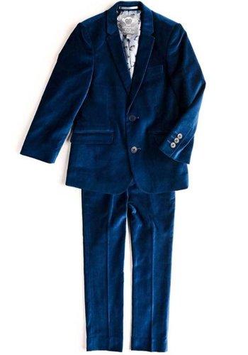 Appaman Appaman Mod Boys Slim Seaport Velvet Suit