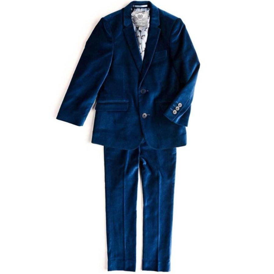 Appaman Mod Boys Slim Seaport Velvet Suit Q8SU4