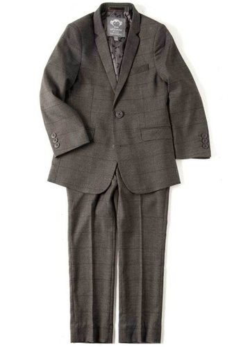 Appaman Appaman Mod Boys Slim Wales Check Suit Q8SU6