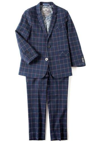 Appaman Appaman Mod Boys Slim Windowpane Suit