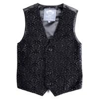 Appaman Tailored Printed Velvet Vest