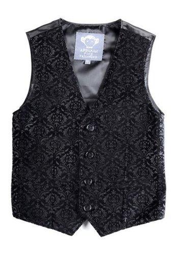 Appaman Appaman Tailored Printed Velvet Vest Q8TV2-PV