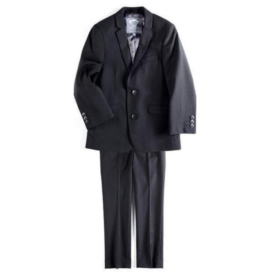 Appaman Mod Boys Slim Suit Black