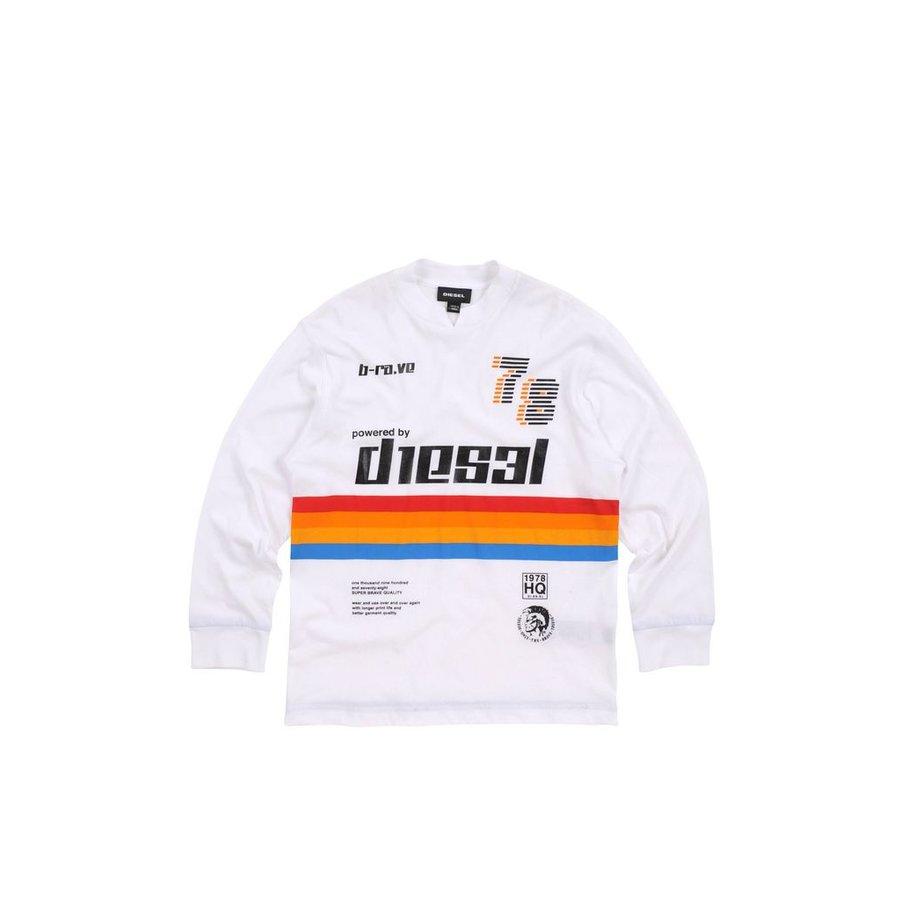 Diesel Boys T-Shirt  Tisso Over l/s 172 00J3JNKYAAB