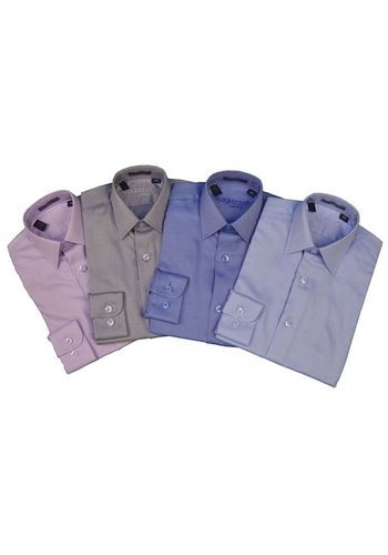 Ragazzo Boys Slim Fit Cotton Shirt Diagional SEAN1214