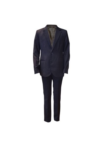 Armani Junior Armani Junior Classic Navy Slim Wool Suit
