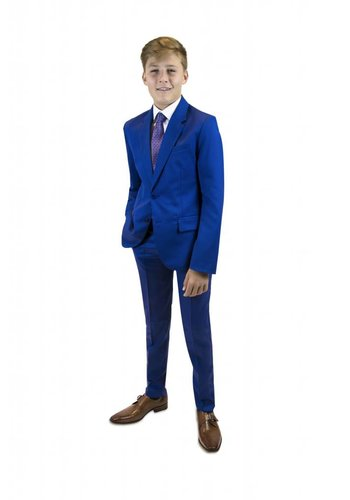 Paul Smith Jr Paul Smith Jr Preston Blue Slim Suit