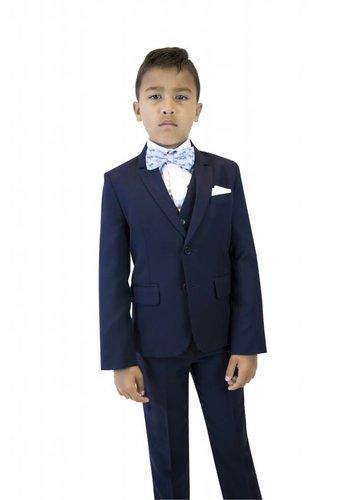 Isaac Mizrahi Isaac Mizrahi Boys Slim 3 Piece Suit Micro Gingham
