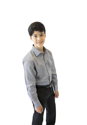 Leo & Zachary Leo & Zachary Boys Slim Shirt 172 5537