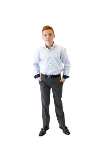 Tallia Tallia Boys Pants Slim Fit 057S100, Grey