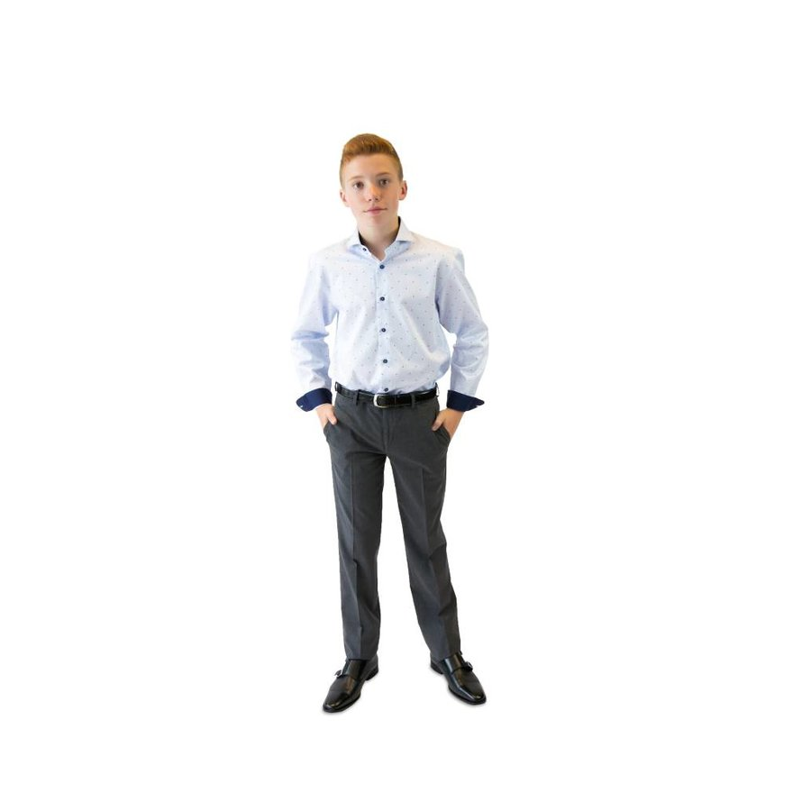 Tallia Boys Pants Slim Fit 057S100, Grey