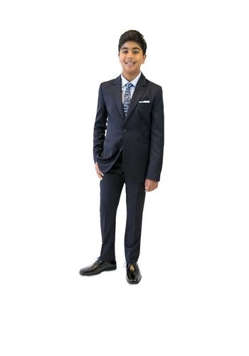 Armani Junior Armani Junior Slim Navy Wool Suit