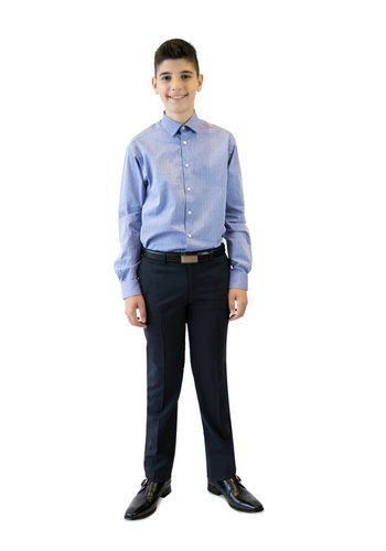 Tallia Tallia Boys Pants Slim Fit 05YS102 Navy
