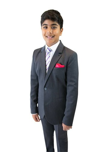 Armani Junior Armani Junior Slim Grey Wool Suit