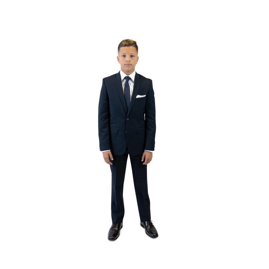 Andrew Marc Boys Skinny Navy Suit W0011