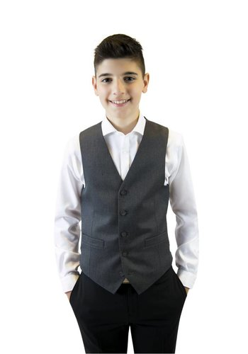Marc NY Andrew Marc Andrew Marc Boys Grey Vest W0002