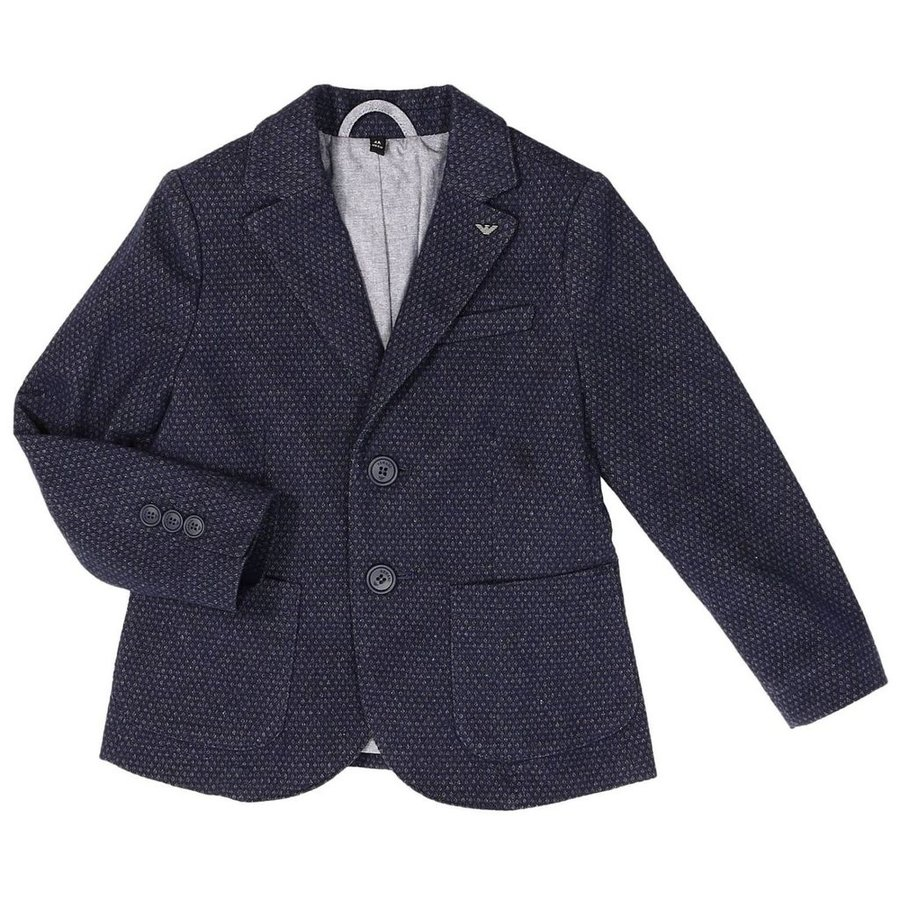 Armani Junior Micro Slim Sports Jacket 172 6Y4G05