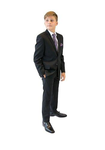 Tallia Tallia Boys Skinny Black Suit DZ0001