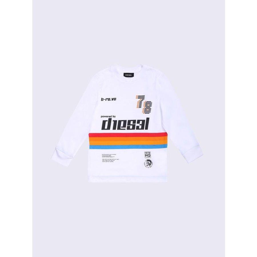 Diesel Junior Boys T-Shirt  Tissok l/s 172 00T0FLKYAAB