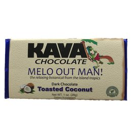 Toasted Coconut Kava Dark Chocolate