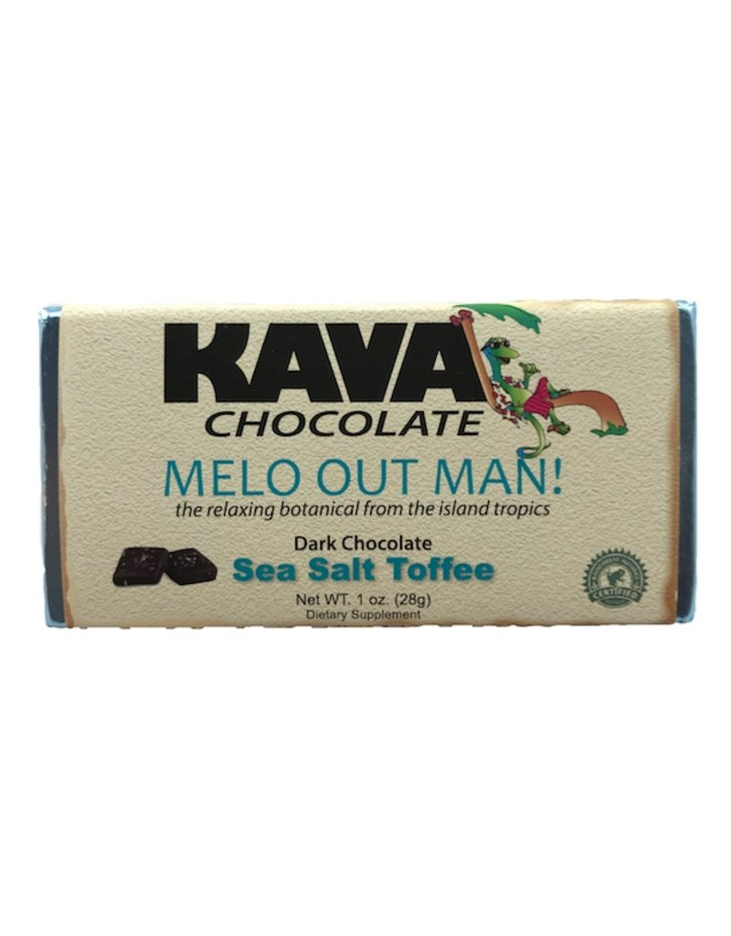 Sea Salt Toffee Kava Dark Chocolate
