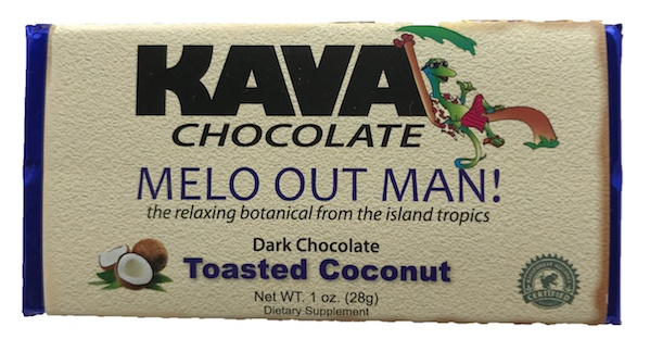 Toasted Coconut Kava Dark Chocolate