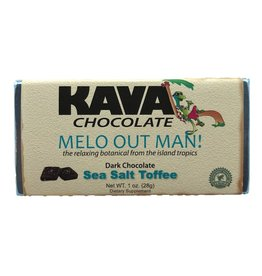 Sea Salt Toffee Kava Dark Chocolate