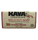 Crunchy Almond Kava Dark Chocolate