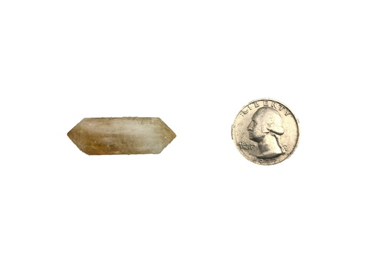 Double Terminated Citrine Points