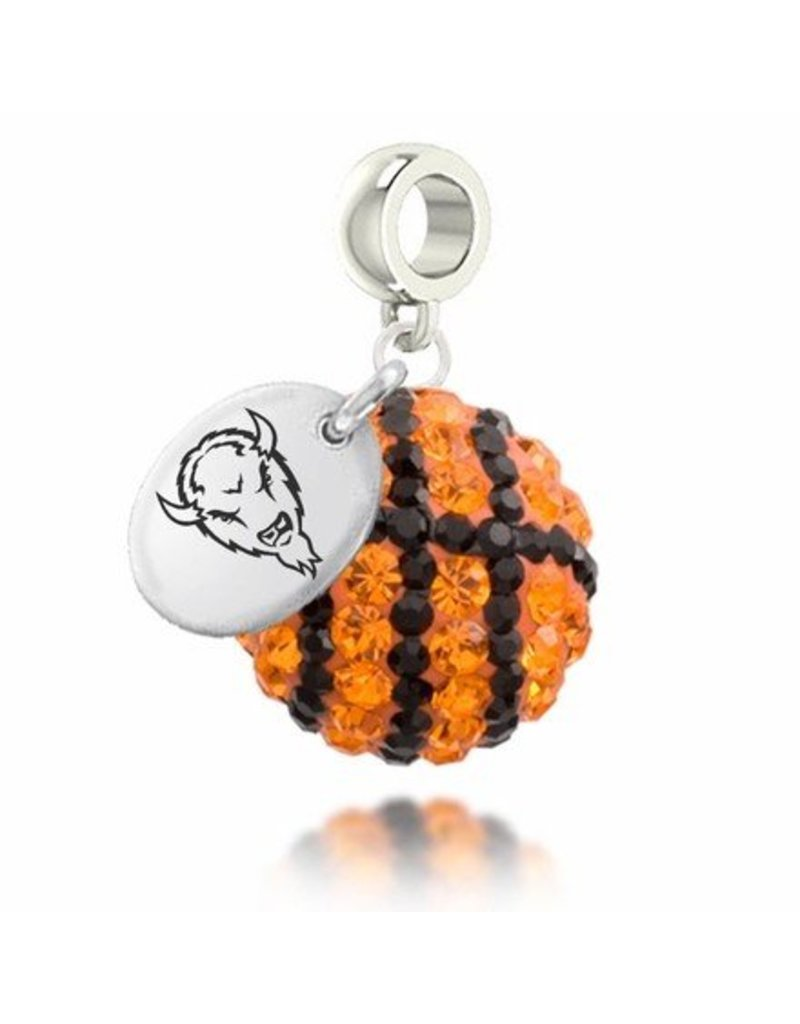 Collegiate Bead Company Marshall University Basketball Drop Bead