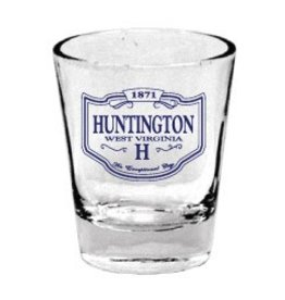 Huntington, WV Shot Glass