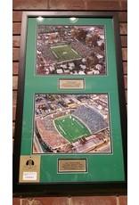 Marshall University First & Last Stadium Framed Art