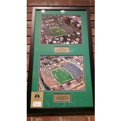 Marshall University First & Last Stadium Framed Art