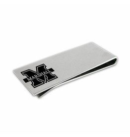 Collegiate Bead Company Marshall University Stainless Money Clip
