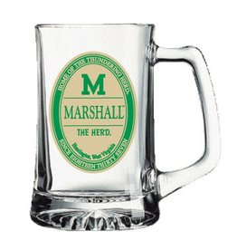 Marshall University 25 oz Glass Tankard