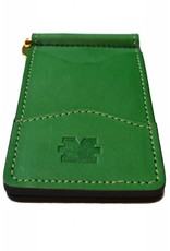 Marshall University Leather Money Clip