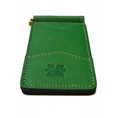 Marshall University Leather Money Clip