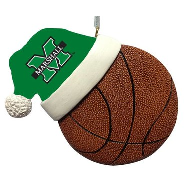 Marshall University Basketball Ornament