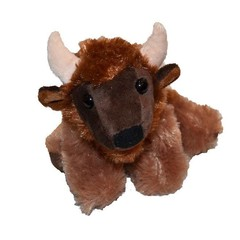 "7"" Buffalo Plush"
