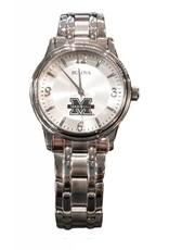 Marshall University Men's Bulova Silver Links Watch