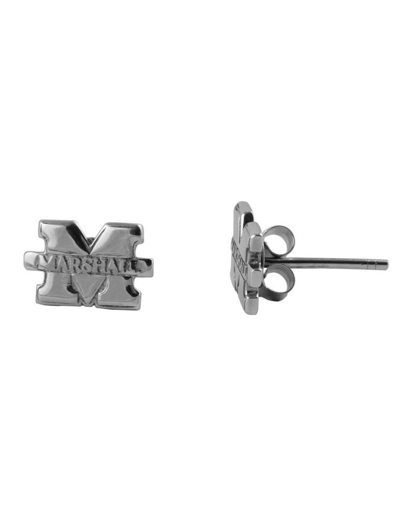 "Marshall University ""M"" Stud Earring"