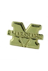 "Marshall University ""M"" Gold Plated Lapel Pin"
