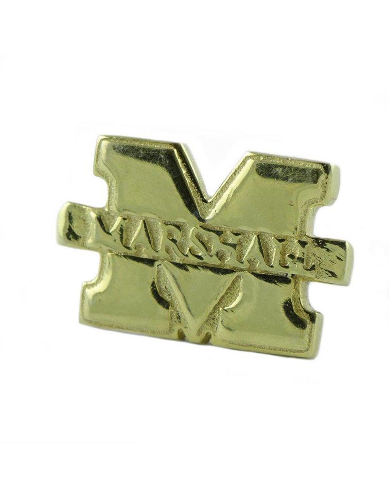 "Marshall University ""M"" Gold Plated Lapel Pin"