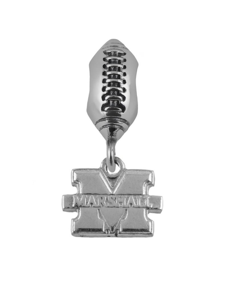 "Marshall University ""M"" Football Bead"