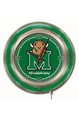"Marshall University 15"" Neon Clock"