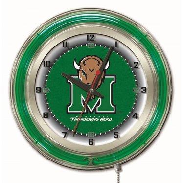 "Marshall University 19"" Neon Clock"