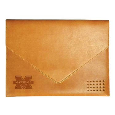 Marshall University Italian Leather Document Folder